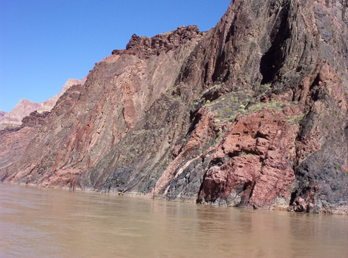 Vishnu Basement Rocks.  Source: National Park Service.