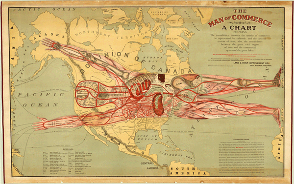 The Man of Commerce by Augustus F. McKay, 1889, Rand McNally and Company
