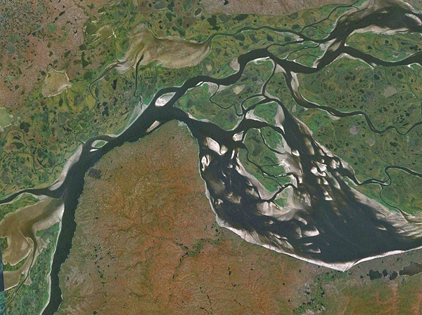 Ob River And The Irtysh River GeoLounge All Things Geography - Ob river on world map