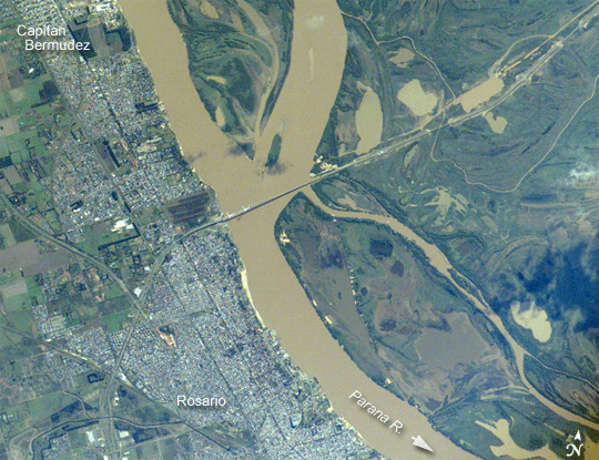 Paraná River GeoLounge All Things Geography - Parana river map