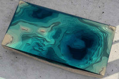 Topographical Tables - Geography as Art