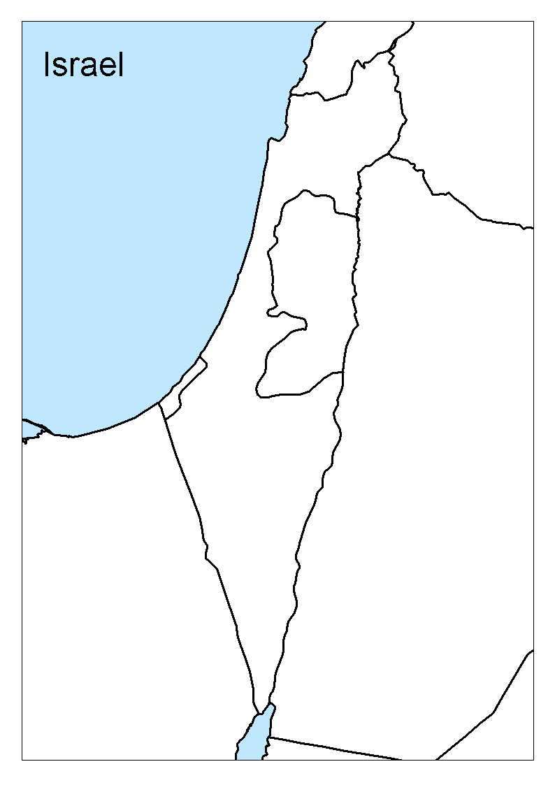 Picture of: Maps Of Israel Geography Realm