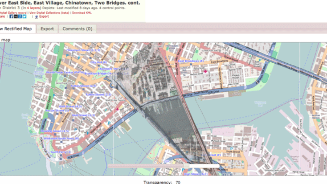 Travel through Time with New York City's Maps - GeoLounge: All ... on