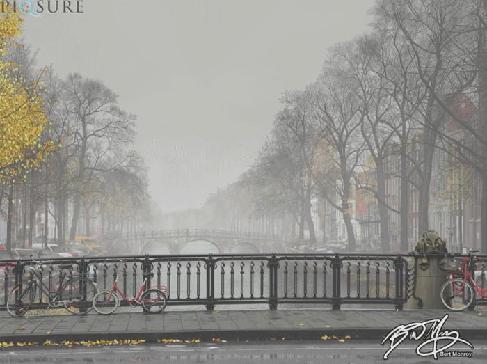 Amsterdam Mist by Bert Monroy