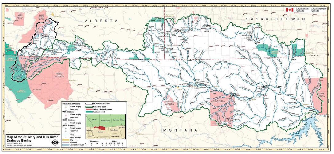 Map: International Hydrological Studies