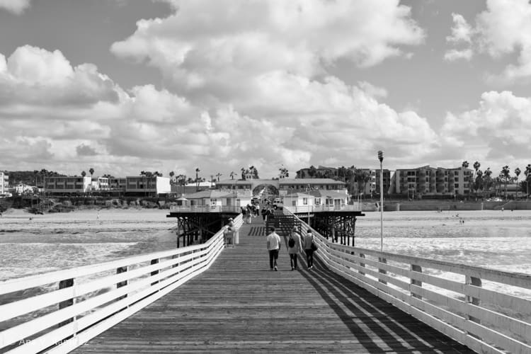 Crystal Pier in Pacific Beach