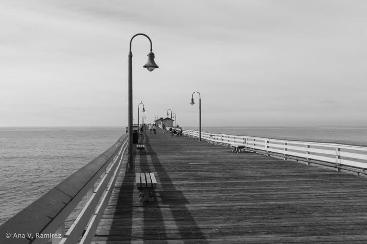 San Clemente Pier.