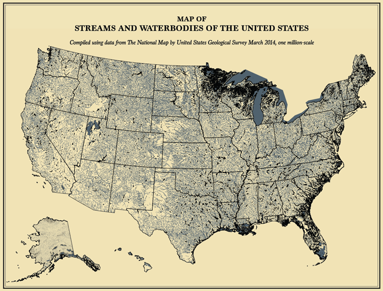 A Modern Statistical Atlas of the United States with an 1870s Twist ...