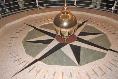 Foucault's pendulum at the Academy of Sciences in San Francisco, California. Photo: Fovea Centralis