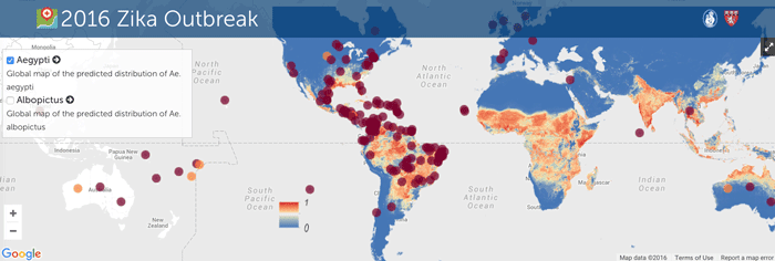 Tracking the Geographic Spread of the Zika Virus  Geography