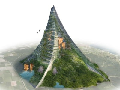 """Die Berg Komt Er (""""That Mountain Is Coming"""") is a proposed man-made mountain in the Netherlands."""