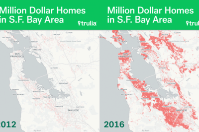 Trull's home price analysis found that there are over twice as many million dollar homes in San Francisco and San Jose, and nearly four times as many in Oakland.