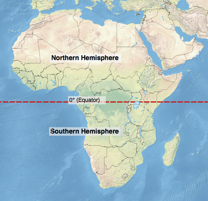 Which continent lies in all four hemispheres geolounge all africa map n s hemispheres gumiabroncs Images