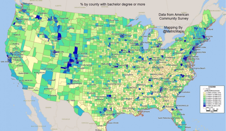 Map: MapMetrics via Washington Post.