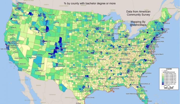 Map: MapMetrics via Washington Post.