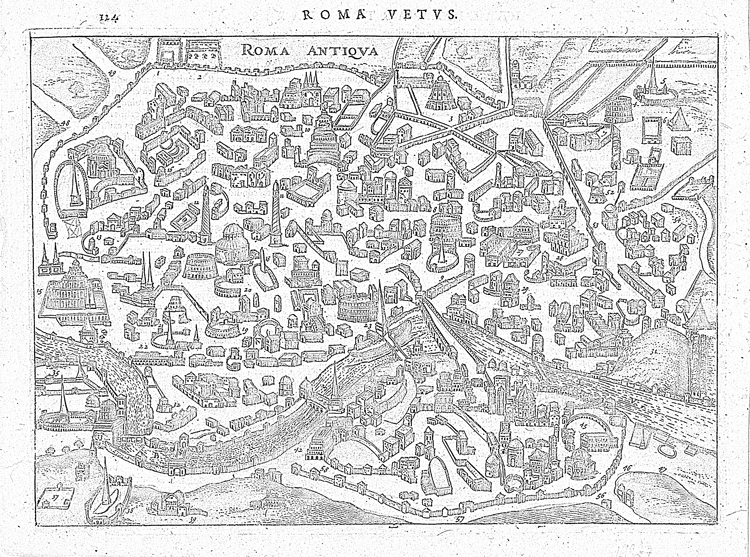 Roma Vestvs coloring sheet. Click on the map image to download the PDF.