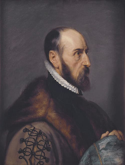 Abraham Ortelius by Peter Paul Rubens, 1632.