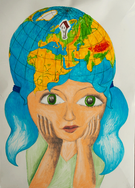 Europe is my home by Maria Piatkowska, age 12.