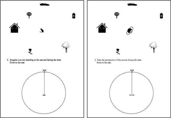 Perspective task. Image: Tarampi, Heydari, & Hegarty, 2016.