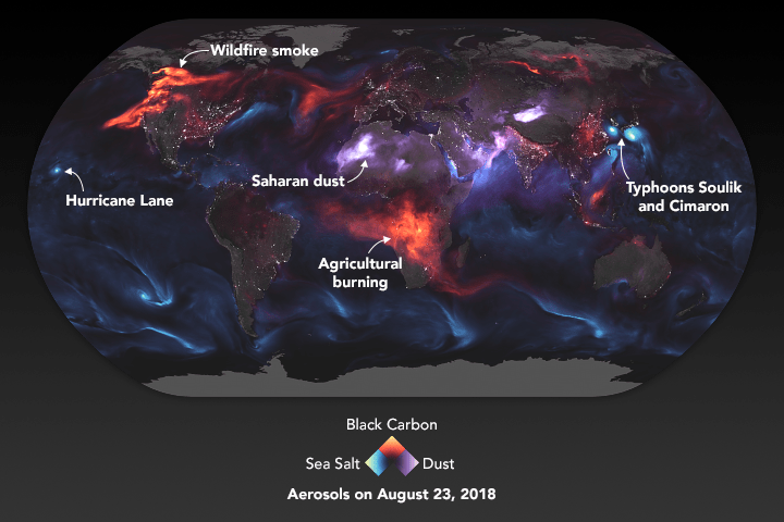 NASA Earth Observatory image by Joshua Stevens, using GEOS data from the Global Modeling and Assimilation Office at NASA GSFC.