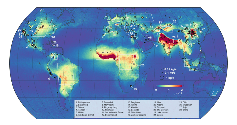 Mapping Out Ammonia Hotspots With Satellite Data - Geography ... on