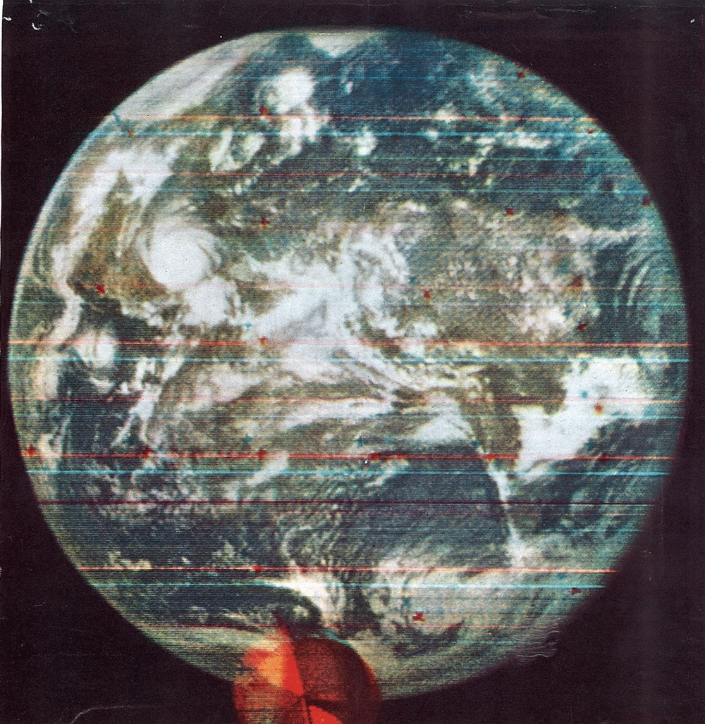 On September 20, 1967, the first color image of the Earth was captured onboard the DODGE satellite.
