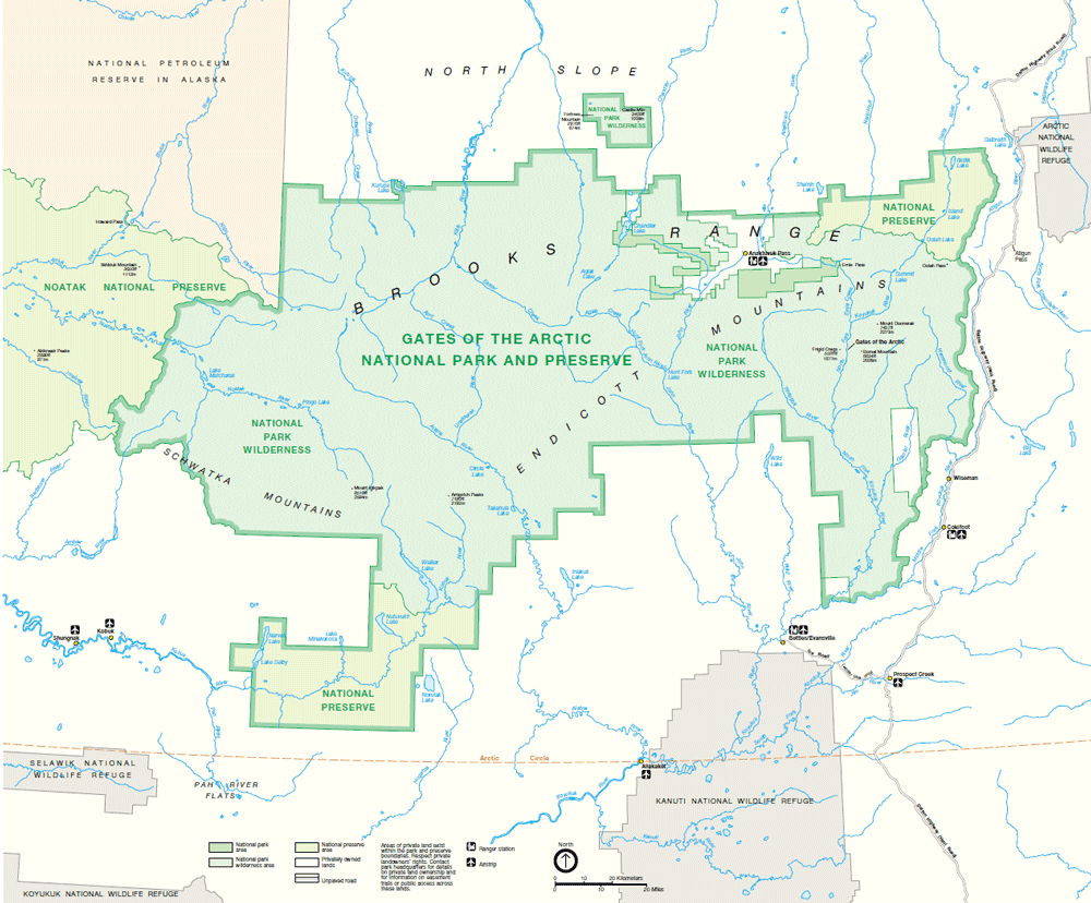 Geography of U.S. National Parks - Geography Realm
