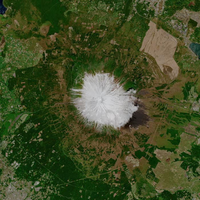 Mountain Fuji, Copernicus Sentinel data (2019), processed by ESA,CC BY-SA 3.0 IGO