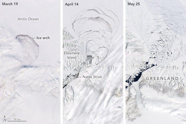 Time series of NASA Earth Observatory images by Lauren Dauphin, using MODIS data from NASA EOSDIS/LANCE and GIBS/Worldview and VIIRS data from NASA EOSDIS/LANCE and GIBS/Worldview, and the Suomi National Polar-orbiting Partnership.