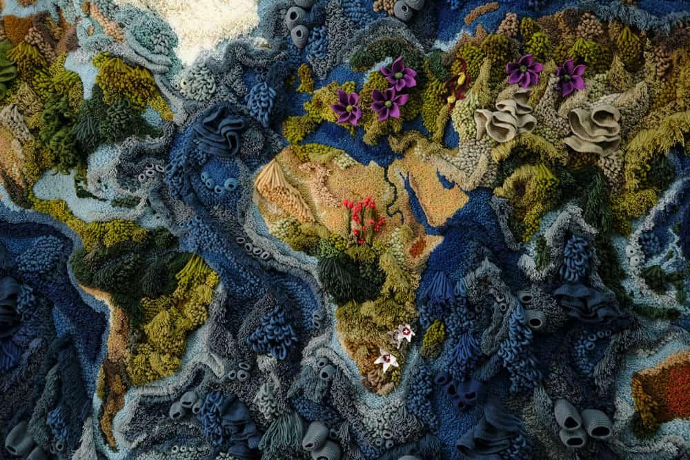 Botanical Tapestry by Vanessa Barragão, 2019