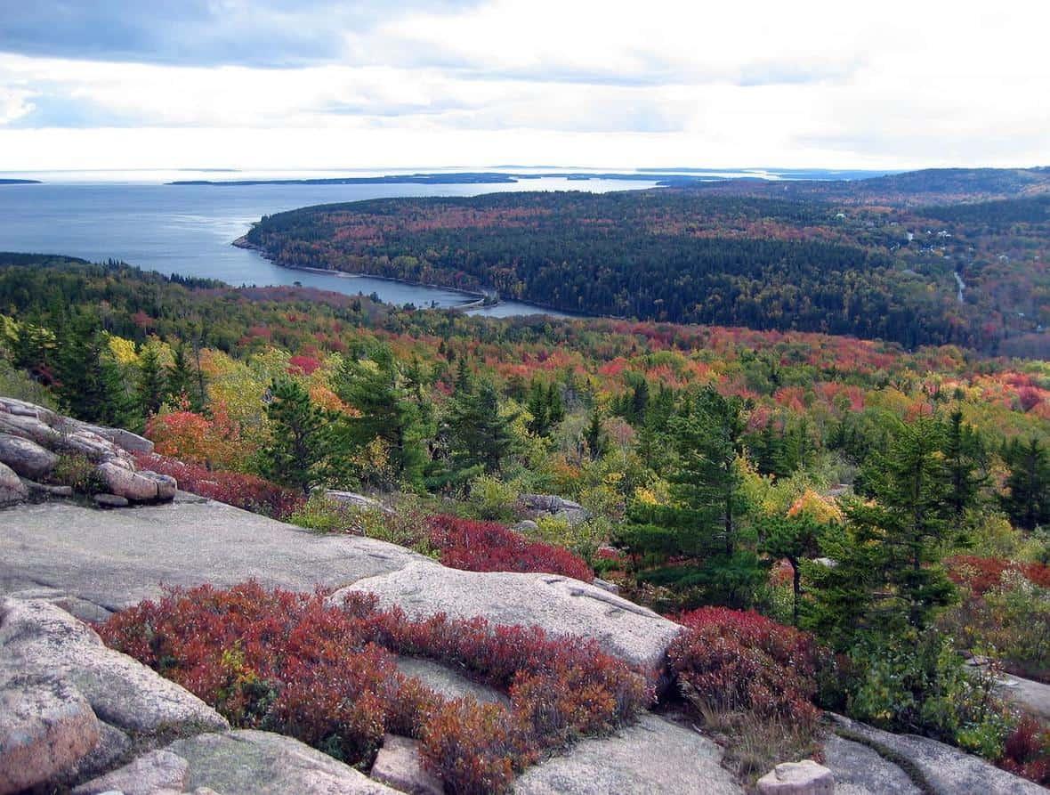 Acadia National Park, Maine. Photo: NPS, public domain
