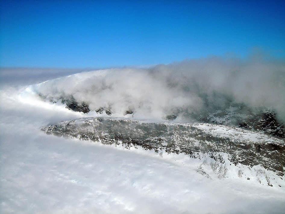 Windblown Snow. Image: NASA/Michael Studinger, public domain