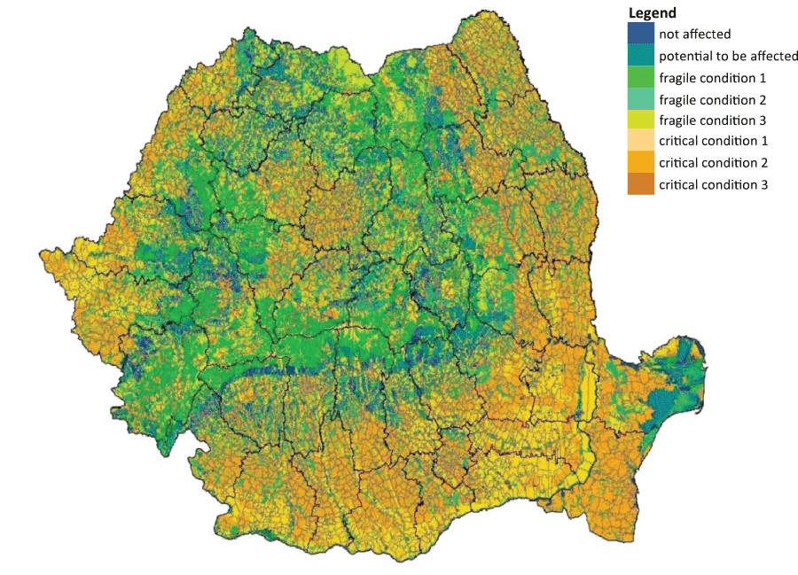 When thinking about Romania's geography, the Danube delta and the ancient forests of the majestic Carpathian mountains first come to mind. These