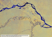 Satellite Imagery of the Widest River in the World