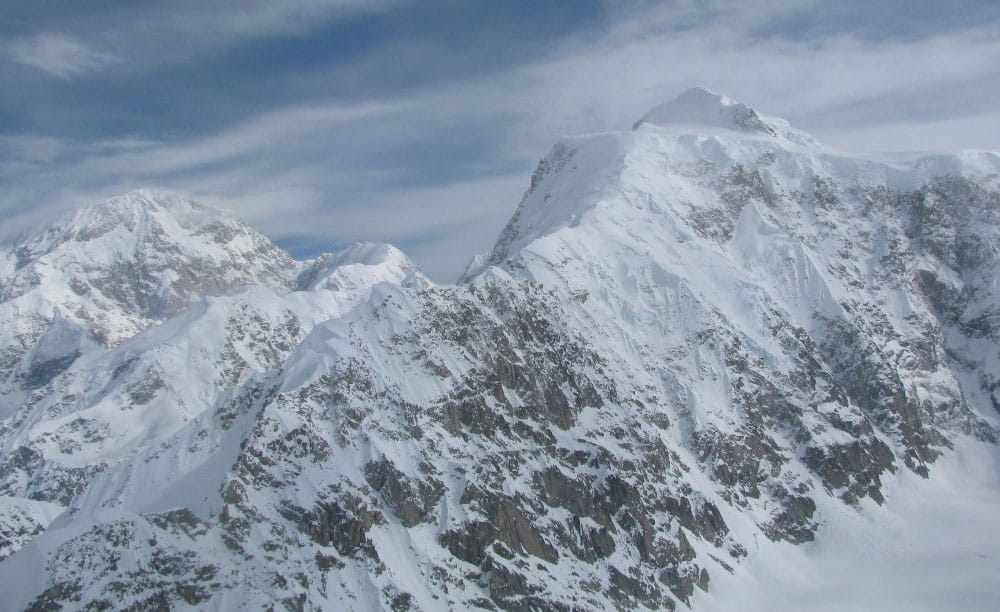 West Ridge of Mount Hunter, NPS Photo/Dan Corn.