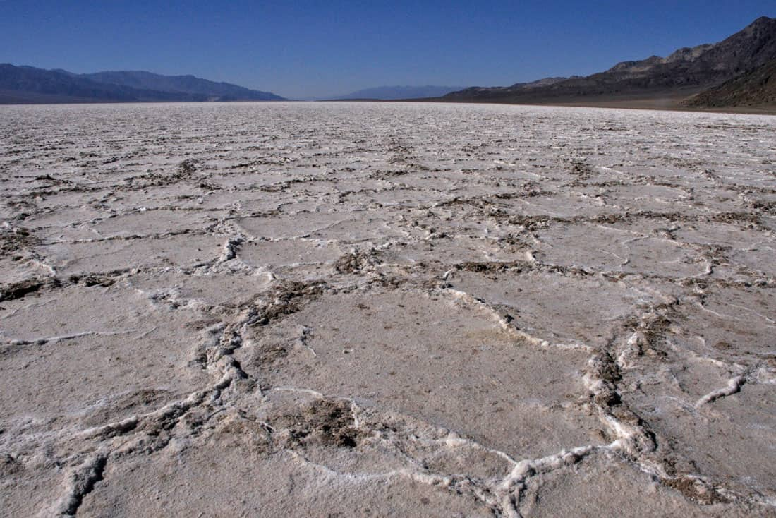 Badwater Basin, Death Valley National Park.  Photo: NPS, public domain.