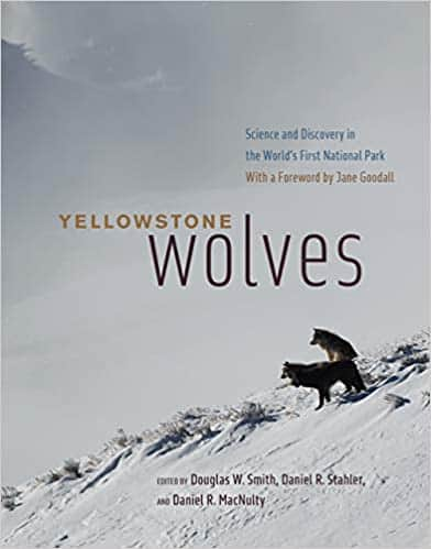 Book cover for Yellowstone Wolves