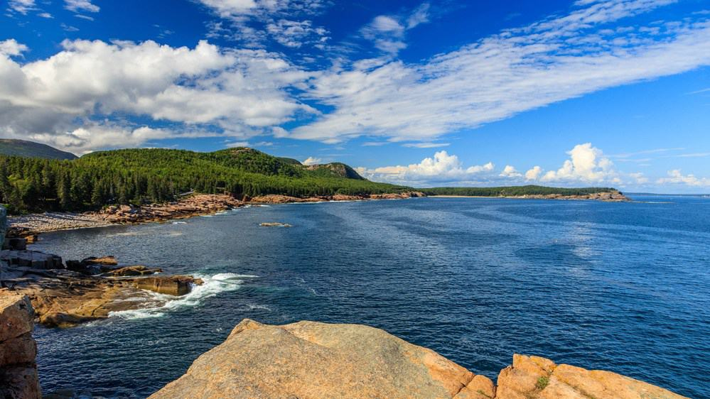 The Atlantic Ocean in Acadia, Maine. Photo: NPS Photo/Kristi Rugg.