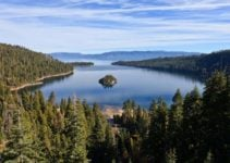 Largest Alpine Lake in North America