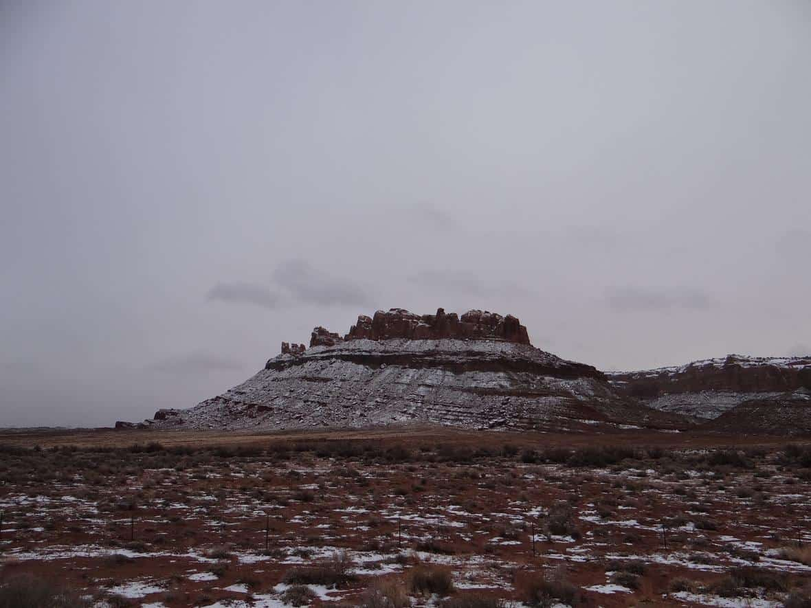 A mesa on lands managed by the Bureau of Land Management near Canyonlands National Park, Moab, Utah.
